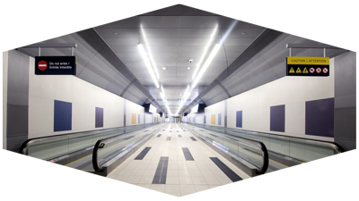 Billy Bishop Pedestrian Tunnel